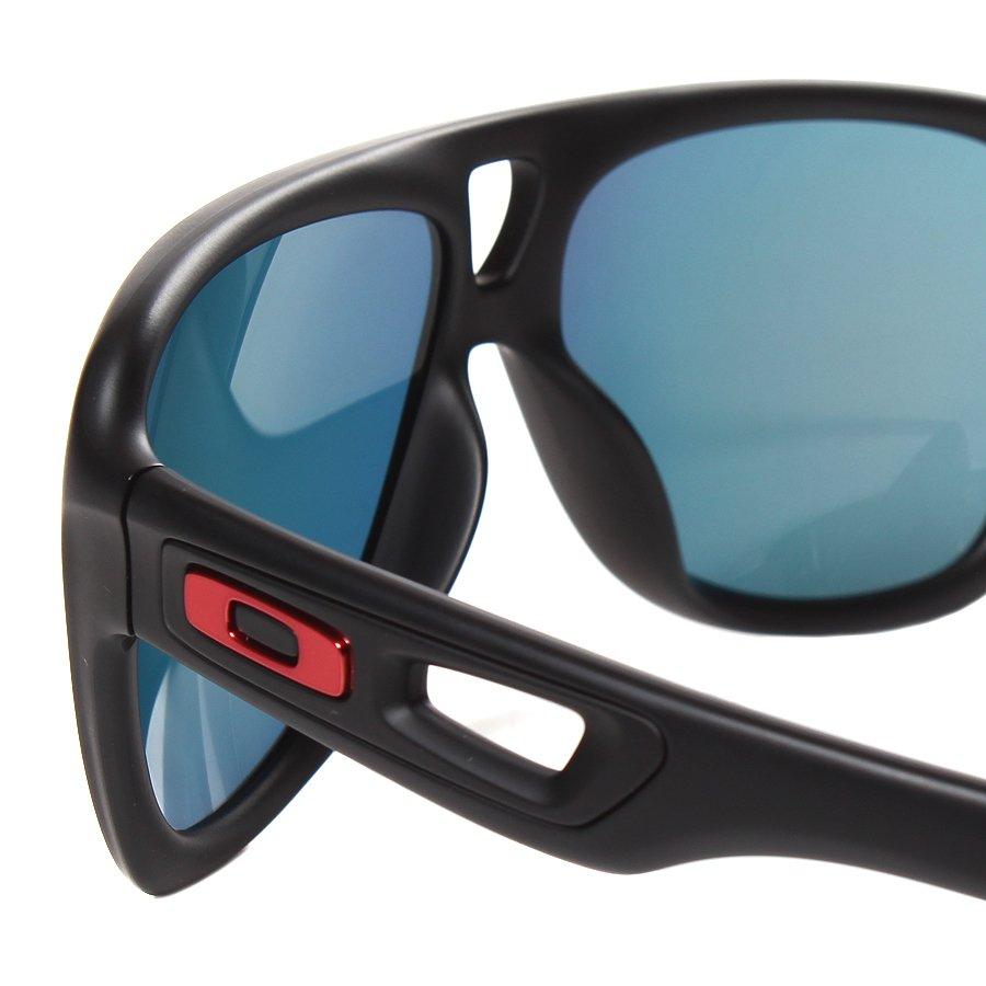 61195d101 Óculos Oakley Dispatch II Preto/Vermelho - Rock City