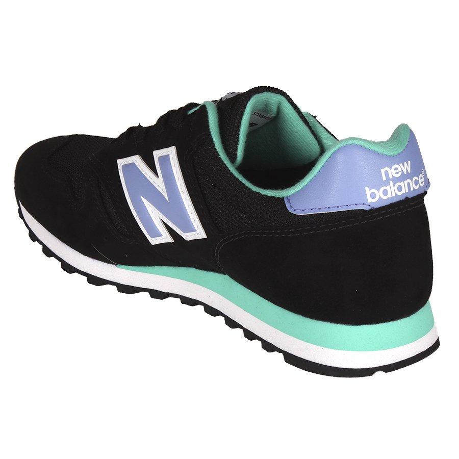 new balance verde preto