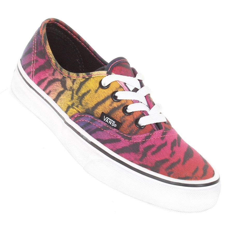7e36203984 Tênis Vans U Authentic (Rainbow Tiger) Preto - Rock City