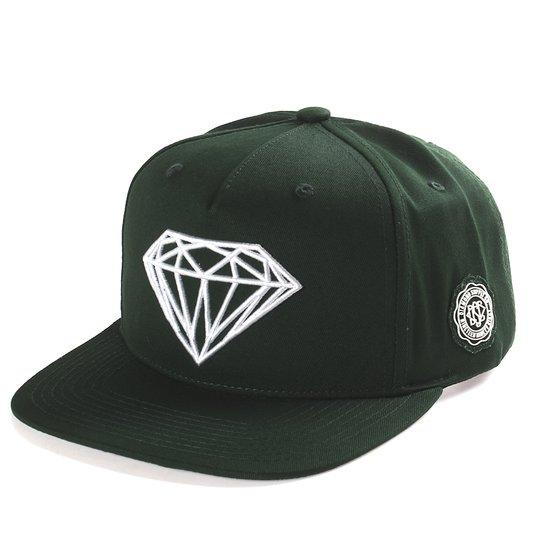 Boné Diamond Briliant Verde Musgo