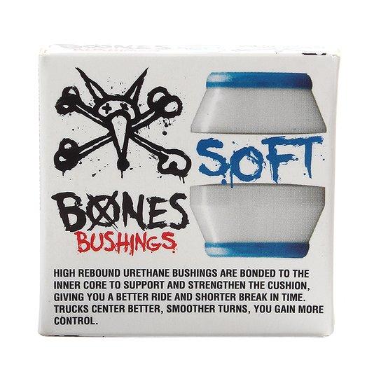 Amortecedor Bones Soft Branco/Azul