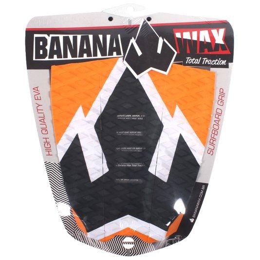 Deck Banana Wax Big Logo Preto/Laranja/Branco