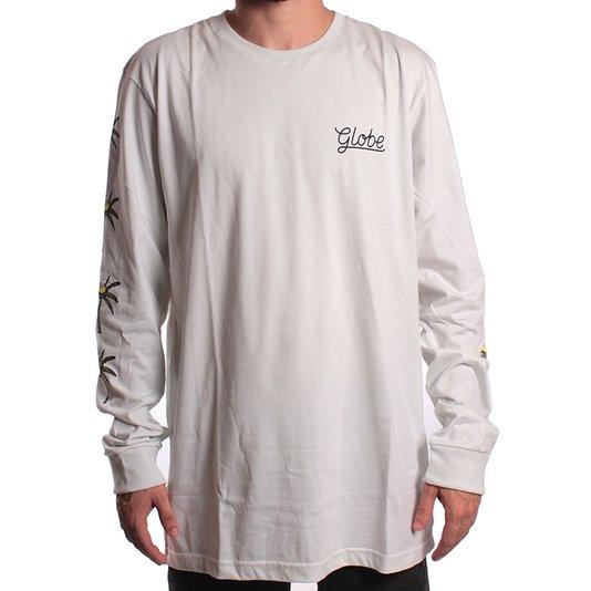 Camiseta GLobe M/L Paradise Gelo