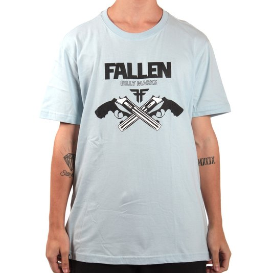 Camiseta Fallen Billy Marks Azul Claro