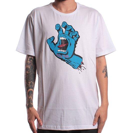 Camiseta Santa Cruz Screaming Hand Branco
