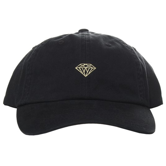 Boné Diamond Micro Brilliant Dad Hat Preto