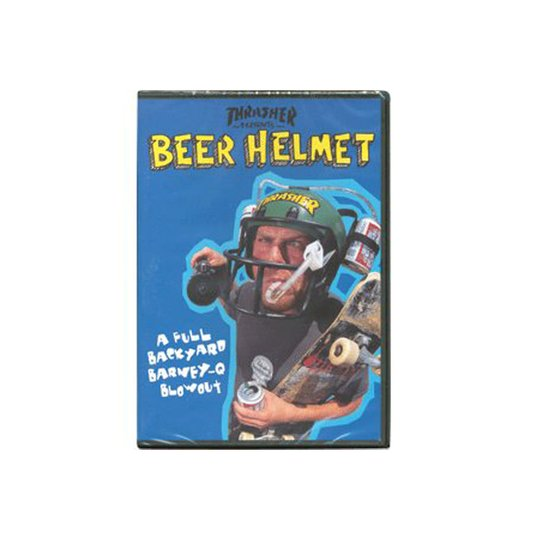 Dvd Thrasher Beer Helmets