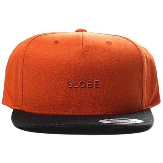 Boné Globe Witken II Laranja/Preto