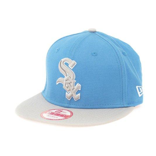 Boné New Era 2 Stone Sox Azul