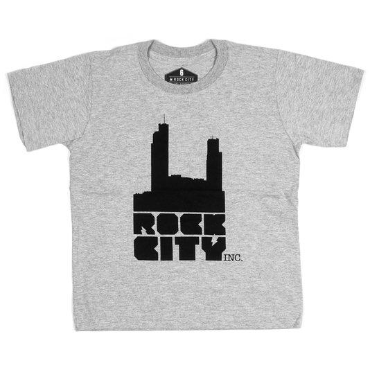 Camiseta Rock City Logo Infantil Mescla