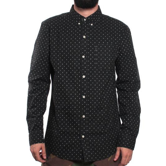 Camisa Rip Curl All Day  Preto/Branco