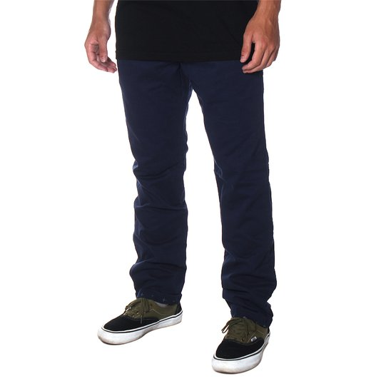 Calça Vans Excerpt Chino Cuff Azul Marinho