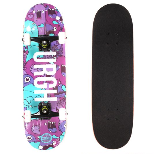 Skate Urgh Montado Mon 1 Roxo/Azul