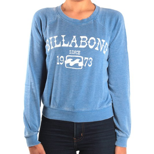 Moletom Billabong Falling Back Azul