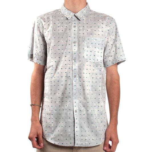 Camisa Billabong Revival Ss Prata