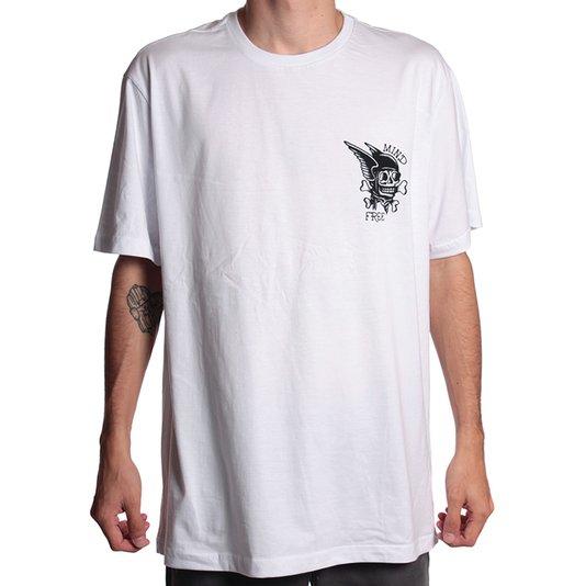 Camiseta Rock City Mind Free Mini Nac. Branco