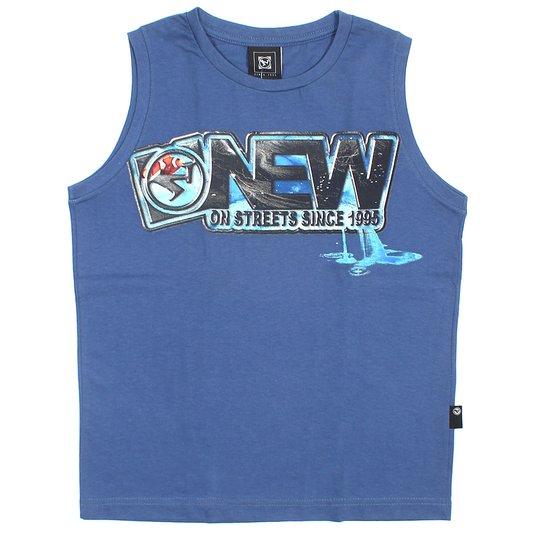 Regata New Skate Infantil Aquariom Azul