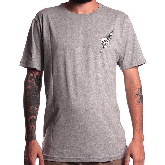 Camiseta Independent Dressen Dagger Cinza Mescla
