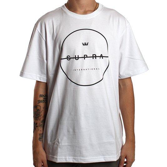 Camiseta Supra Strikeout Branco