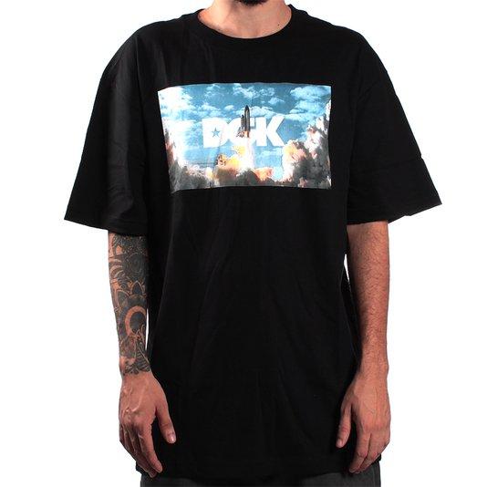 Camiseta Dgk Houston  Preto
