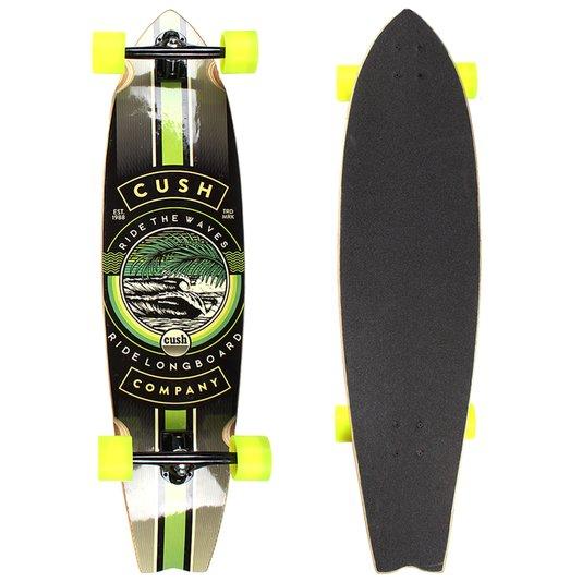 Longboard W7 Cush Invertido Seed Preto/Verde Neon