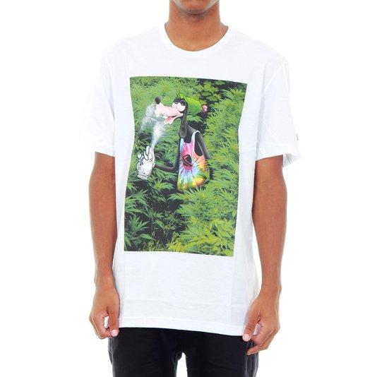 Camiseta Lost Jamacain Goofy Branco