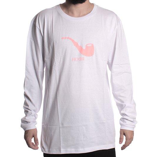Camiseta Manga Longa Blaze Pipe Branco