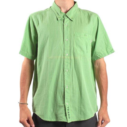 Camisa O'Neill Single Fin  Verde
