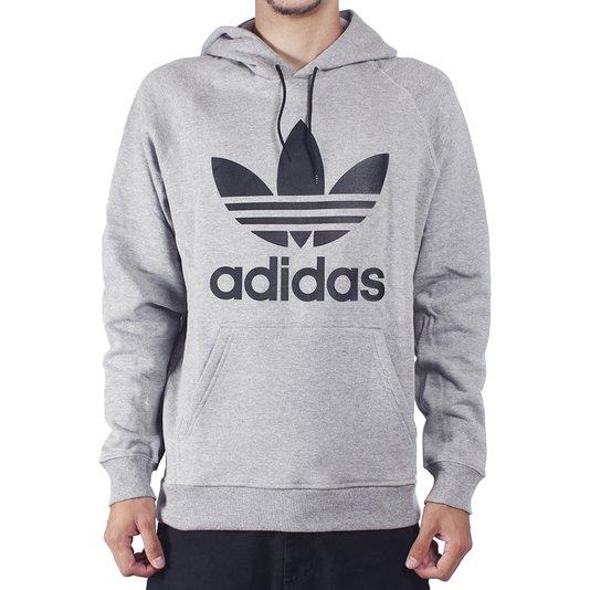 Moletom Adidas Trefoil Hoody Mescla