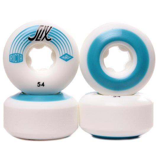 Roda Ricta Slix White 81b Branco/Azul