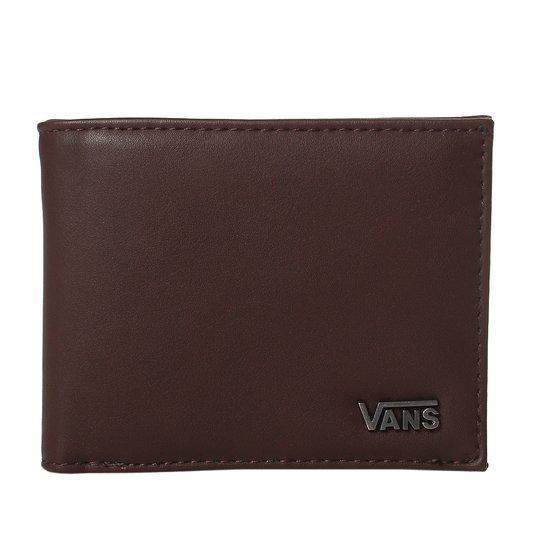 Carteira Vans Suffolk Wallet Brown Marrom