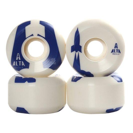 Roda Alta Wheels Launch Rs20 83B Branco/Azul