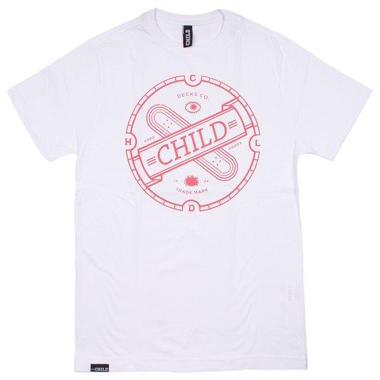 Camiseta Child Invictus Infantil Branco