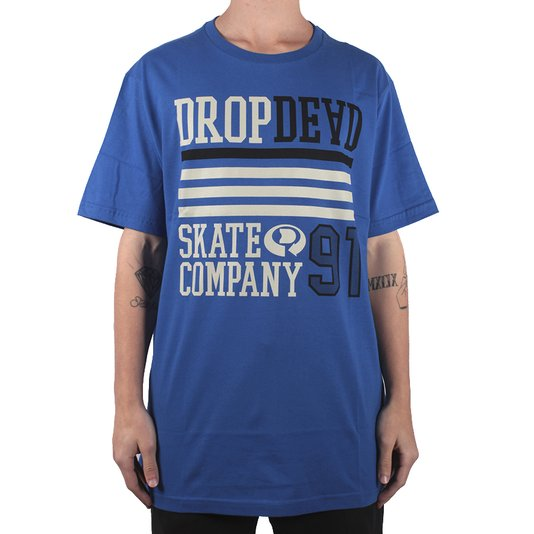 Camiseta Dropdead Reverse Azul
