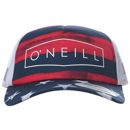 Boné O'Neill Freedom Treucker Vermelho/Azul