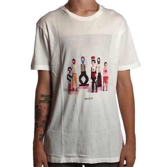 Camiseta RVCA Alsweiler Sculpture Bege