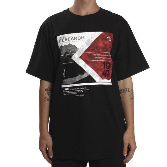 Camiseta Lrg Outdoor Movement Preto