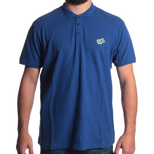 Camisa Lost Polo La Lost Azul