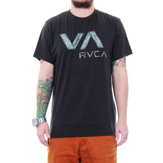 Camiseta Rvca Wooden Chumbo