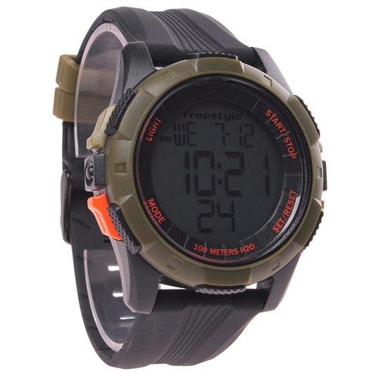 Relógio Killer Shark Kampus XL Preto/Militar