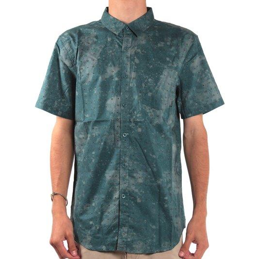Camisa Billabong Revival Ss Petroleo