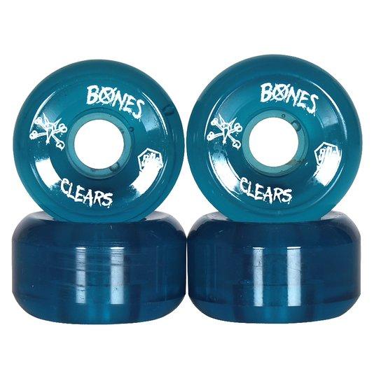 Roda Bones SPF Clears 84B Azul