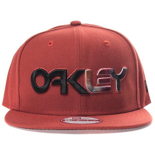 Boné Oakley Factory Snapback Laranja