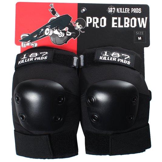 Cotoveleira 187 Killer Pads Pro Elbow Preto