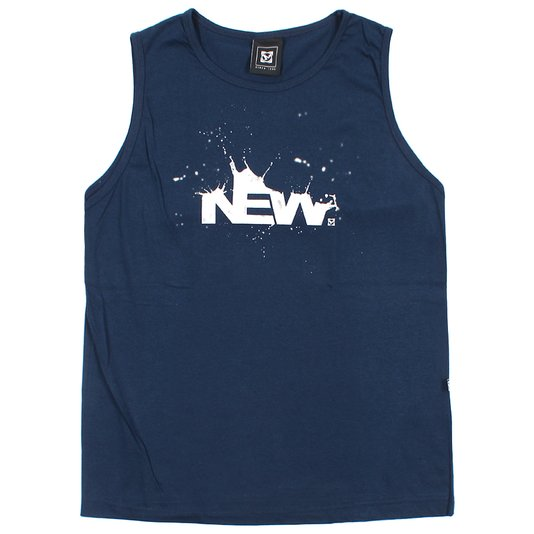 Regata New Skate Newmilk Infantil Azul