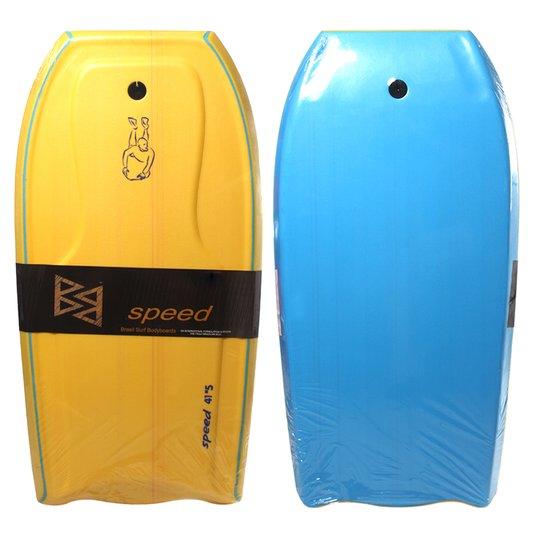 Prancha Bodyboard Speed Semi Pro Amarelo/Azul