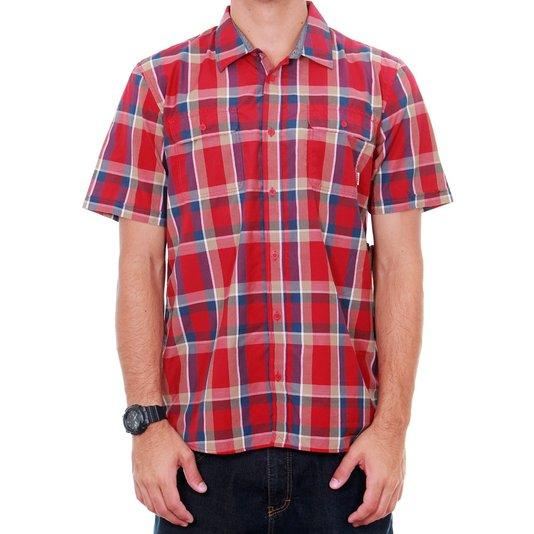 Camisa Vans M Averril Vermelho