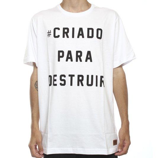Camiseta Dropdead Cpd Branco