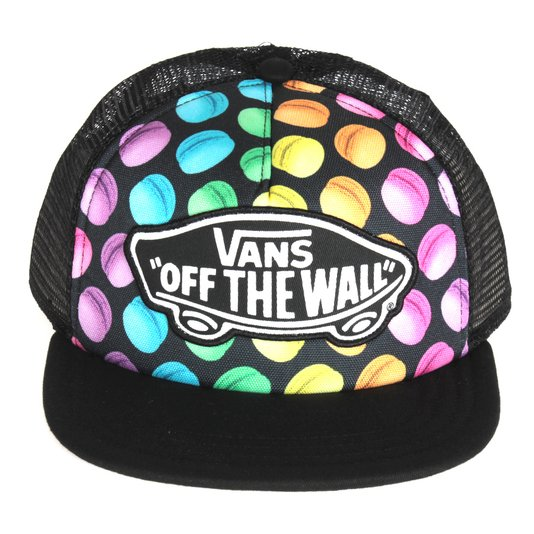 Bone Vans Beach Girl Trucker Preto