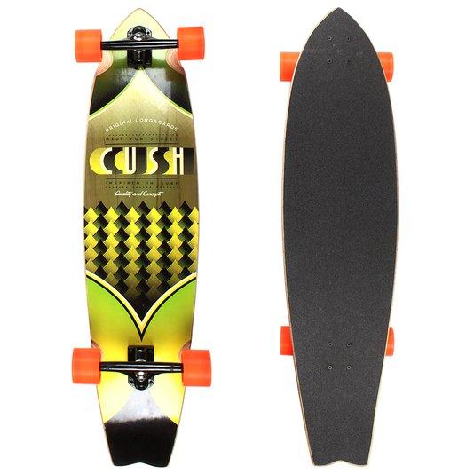 Longboard W7 Cush Invertido Seed Amarelo/Laranja